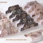 15 Decorative Journal Divider Tabs ..